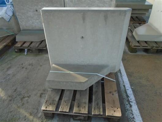 Objekte/- Gestaltungselemente 1B L-STEIN-ECKE BEW. 90° 80/100 LINKS