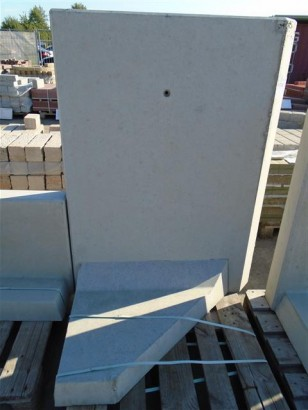 Objekte/- Gestaltungselemente 1B L-STEIN-ECKE BEW. 90° 130/100 LINKS
