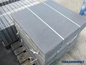 Terrassenplatten 1B DIE BELGISCHE SCHWARZ-BASALT 80/80/4
