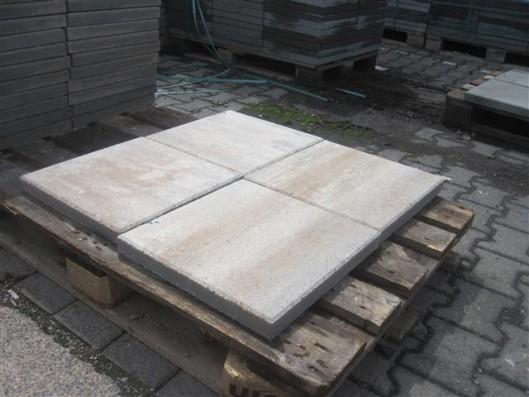 Terrassenplatten X-TRA VIA MUSCHELKALK 40/40/4 CM PE2