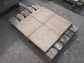 Terrassenplatten X-TRA VIA SANDSTEIN 40/40/4 CM PE2