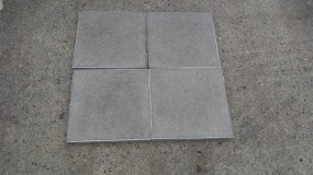 Terrassenplatten X-TRA MITTELGRAU 40/40/4