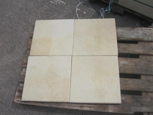 Terrassenplatten X-TRA RUSTICA NANO GELB 40/40/4