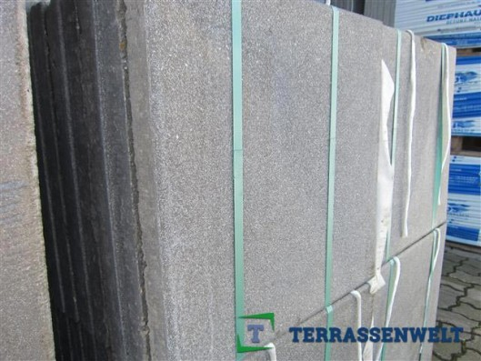 Terrassenplatten X-TRA RUS NANO MUSCHELK 40/40/4 112/DBP