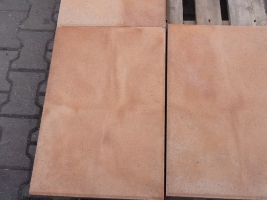 Terrassenplatten X-TRA RUS OCKER-GELB-ROSE 60/40/4 CM