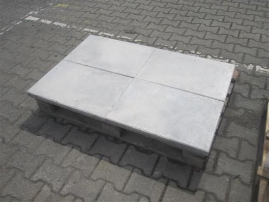 Terrassenplatten X-TRA RUSTICA NANO WEIß-SCHWARZ 60/40/4