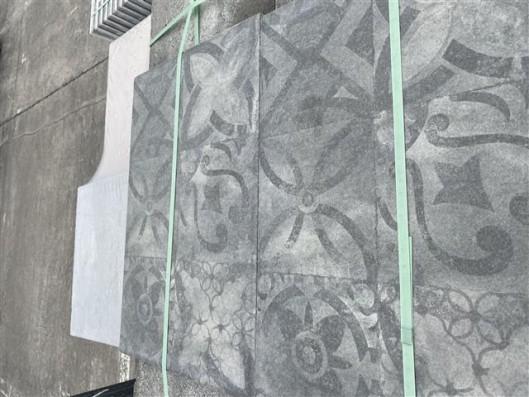 Terrassenplatten 1C LATIO ORNAMENTO BASALT 60/40/4 PE5