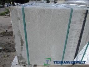 Terrassenplatten 1B GESTR. ZEMENTGRAU MIT FASE 50/50/4 CM