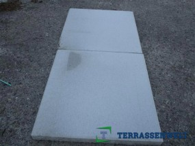 Terrassenplatten 1C BEL. GRAU-WEIß 40/40/4 CM