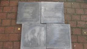 Terrassenplatten 1C RUSTICA NANO GRAU-SCHWARZ 40/40/4