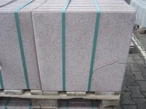 Terrassenplatten Olivebraun Gestrahlt