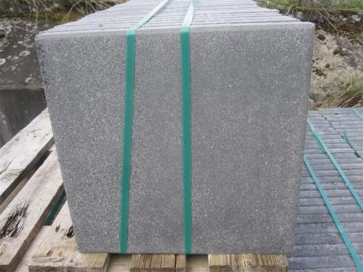 Terrassenplatten 1C RUSTO BASALT 40/40/4 CM PE2