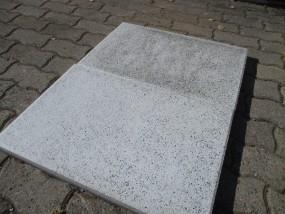 Terrassenplatten 1C RUSTICA NANO WEIß-GRANIT 60/40/4