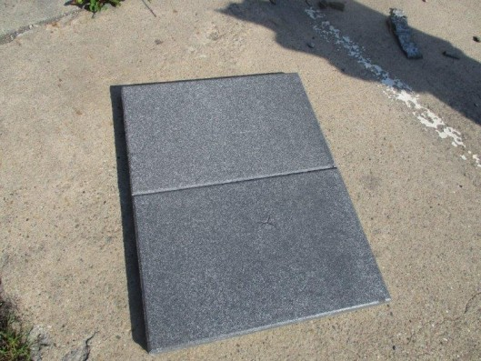 Terrassenplatten 1C RUSTICA NANO BASALT 60/40/4 CM