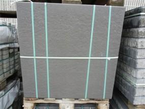 Terrassenplatten 1C DIE BELGISCHE SCHWARZ-BASALT 80/80/4