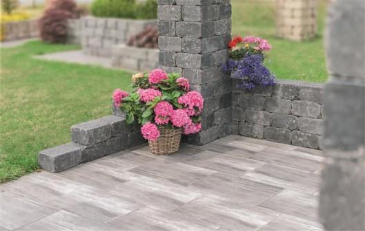 Terrassenplatten LATIO NATURA QUARZ 60/40/4 CM GLATT