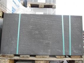 Terrassenplatten 1B SCHWARZ-BASALT 80/40/4 UNBEHANDELT