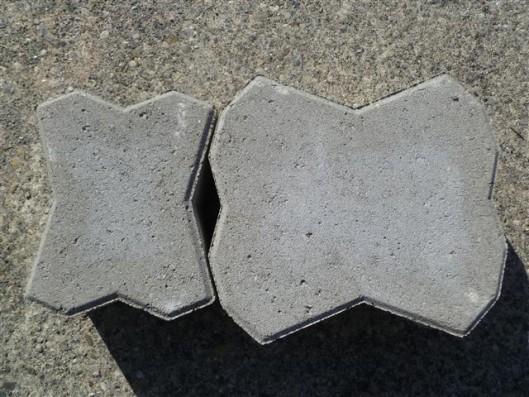 Pflastersteine 1B SUPRA-SHOP-ÖKO GRAU 10 CM 8 LAG