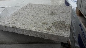 Terrassenplatten 1B CASSANA QUARZ-GRAU 40/40/4 CM