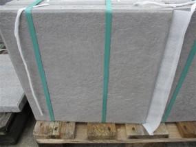 Terrassenplatten X-TRA ANCONA WEIß-SCHWARZ GEFL. 40/40/4