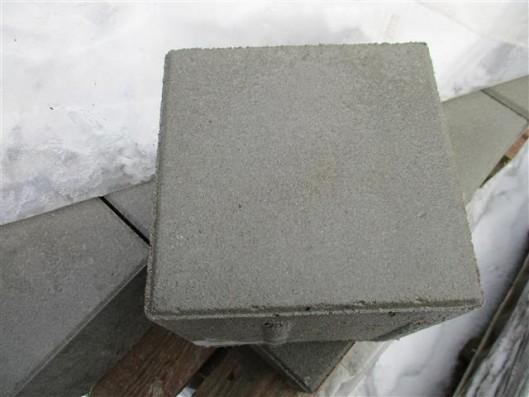 Pflastersteine Pflasterwürfel 16/16/14 cm grau MF