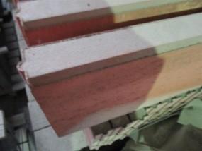 Objekte/- Gestaltungselemente Beeteinfassung 6/30/100 cm rot gefast