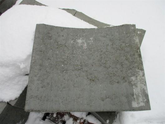 Objekte/- Gestaltungselemente Muldenstein 33/40/12 cm grau